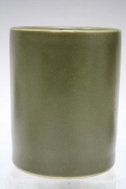 Chinese Tea Dust Porcelain Brushpot