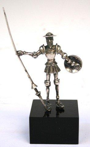 Sterling Silver Cartier Don Quixote Statuette 1980