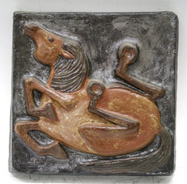 Danish Thyssen Keramik Terracotta Tile