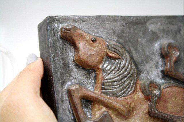 Danish Thyssen Keramik Terracotta Tile - 9