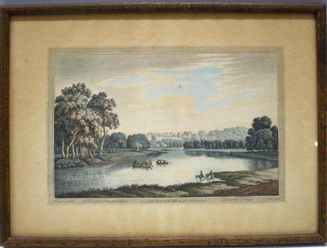 "J. Farington Print ""Richmond Hill"""