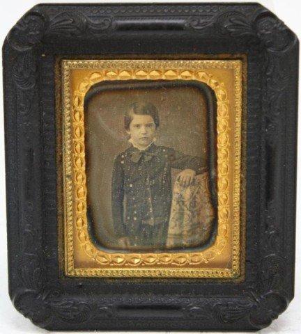 Post Civil War Daguerreotype of Young Boy