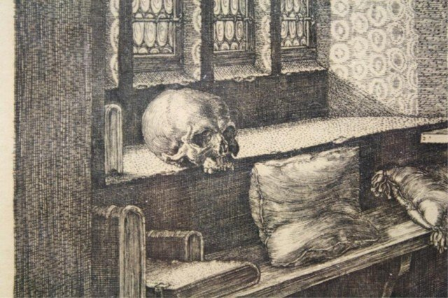 After Dürer Saint Jerome in His Study Engraving - 6