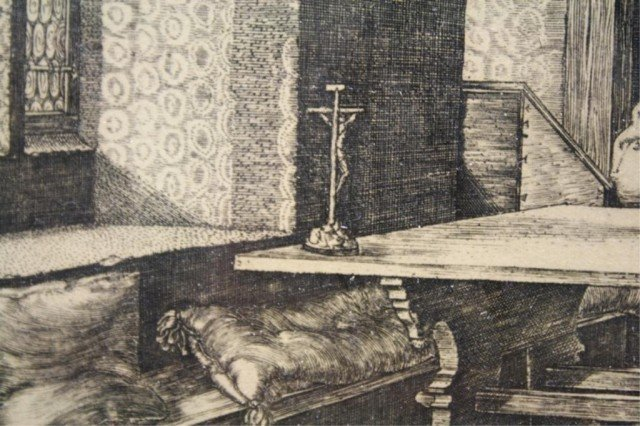 After Dürer Saint Jerome in His Study Engraving - 8