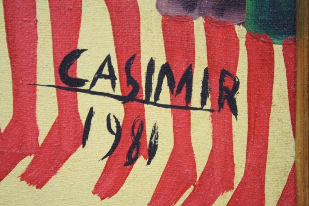 Haitian Laurent Casimir Painting 1980 - 3