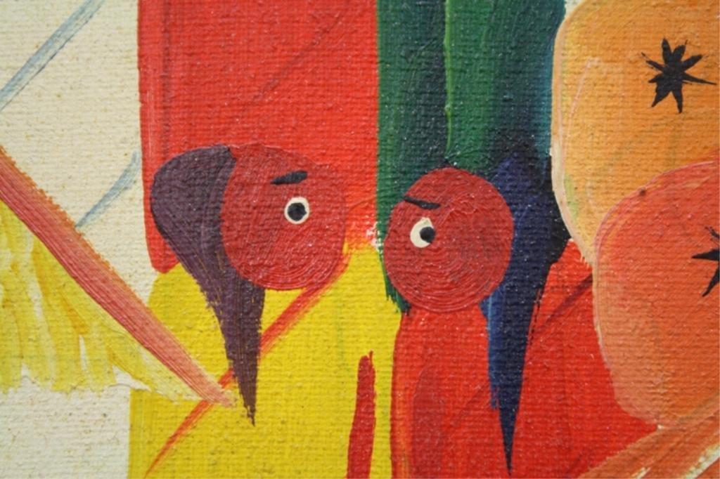 Haitian Laurent Casimir Painting 1980 - 4