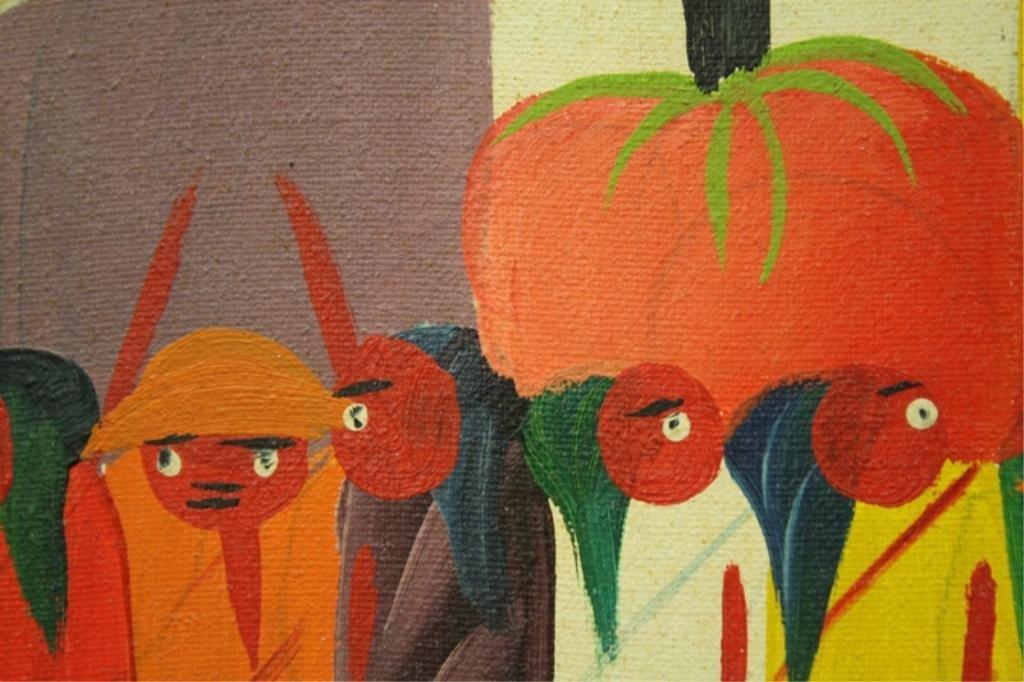 Haitian Laurent Casimir Painting 1980 - 5