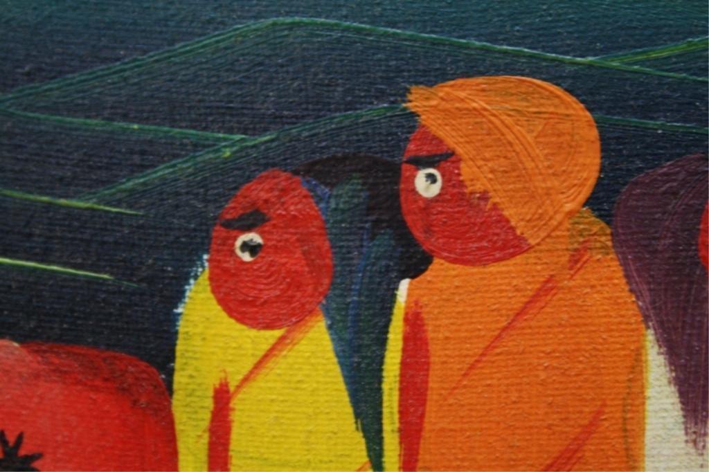 Haitian Laurent Casimir Painting 1980 - 6