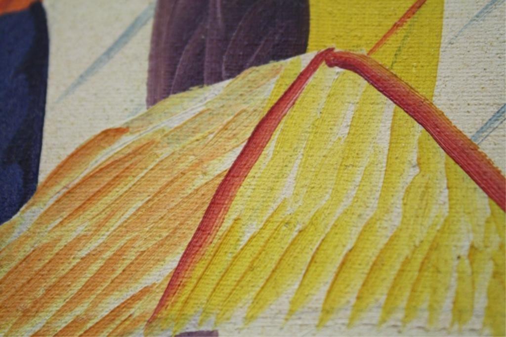 Haitian Laurent Casimir Painting 1980 - 8