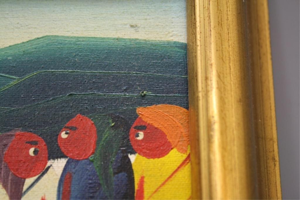 Haitian Laurent Casimir Painting 1980 - 9