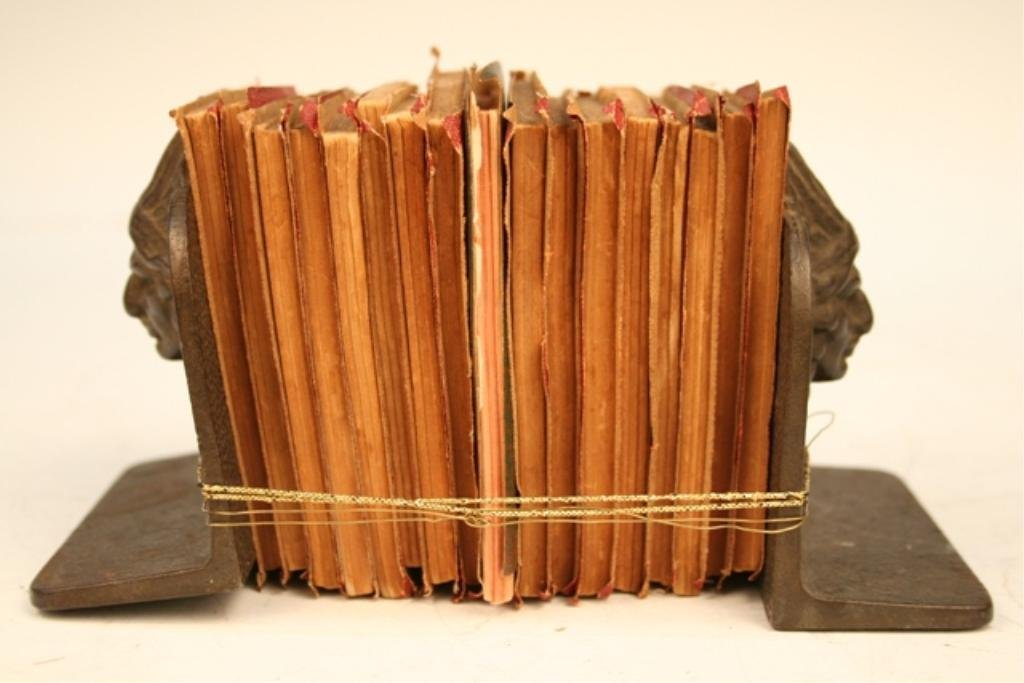 Little Leather Library Books & Bookends