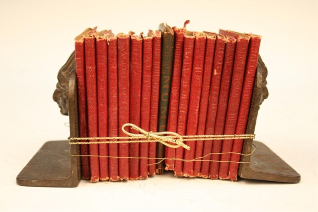 Little Leather Library Books & Bookends - 2