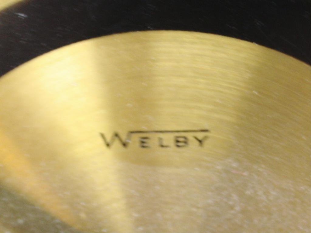 Mid Century Welby Sunburst Clock - 7