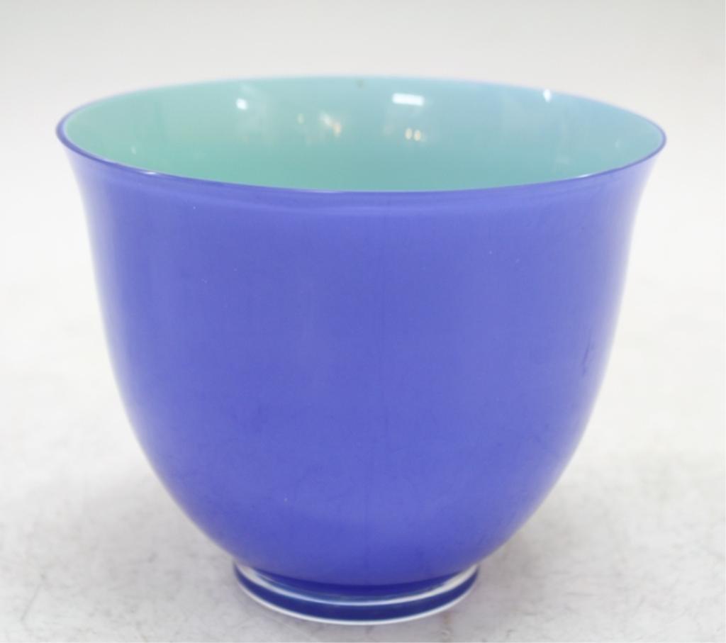 Carlo Moretti For Tiffany & Co. Italian Glass Bowl - 2