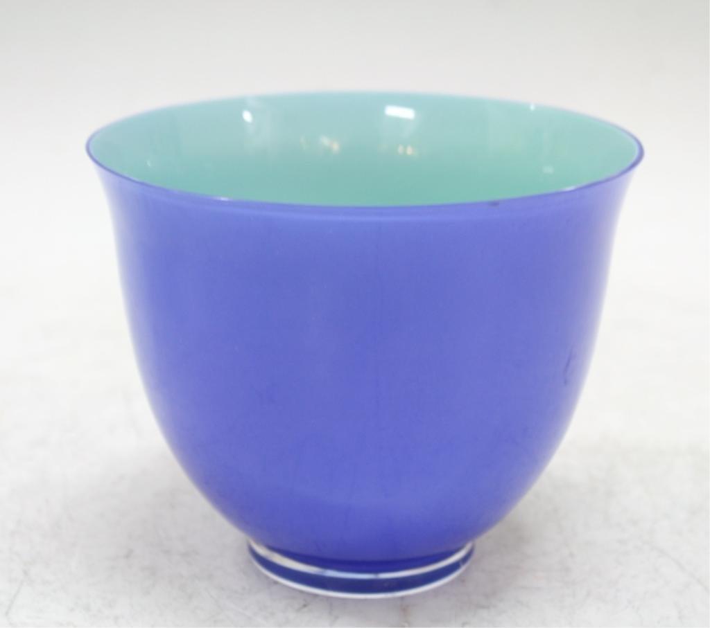 Carlo Moretti For Tiffany & Co. Italian Glass Bowl - 4