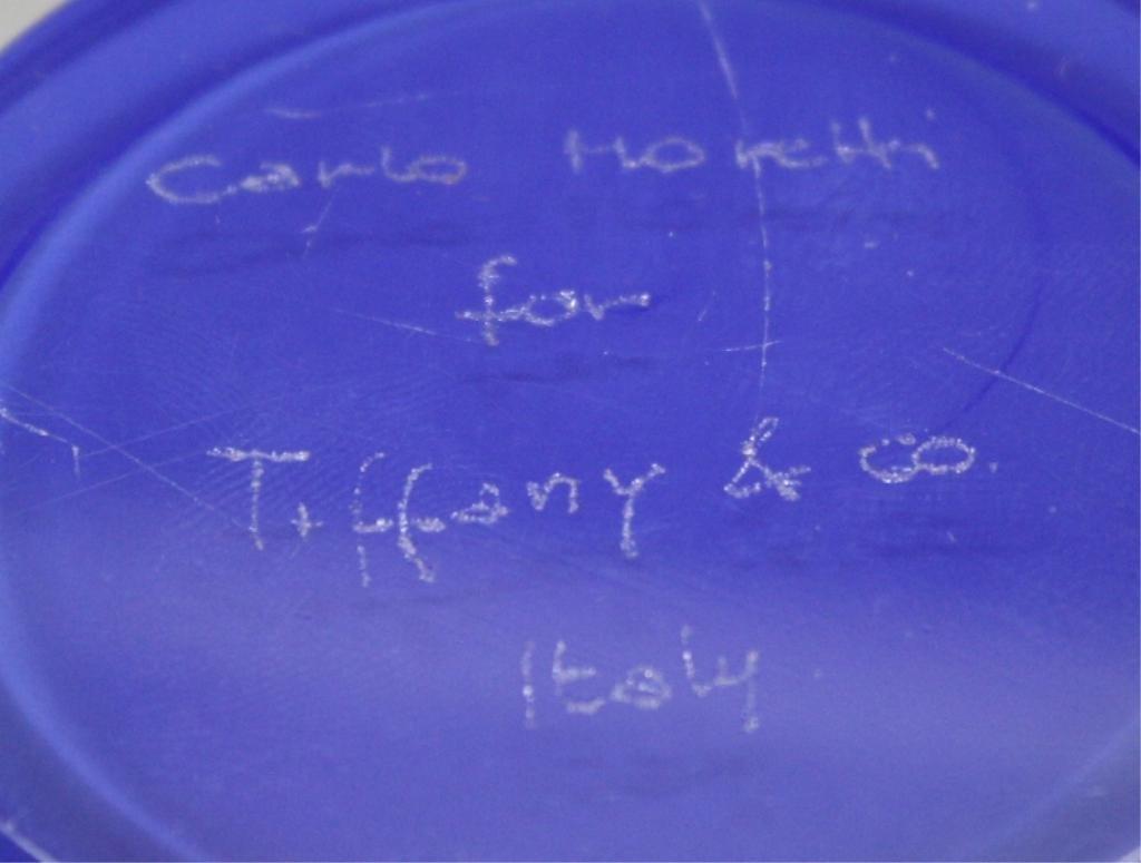 Carlo Moretti For Tiffany & Co. Italian Glass Bowl - 8