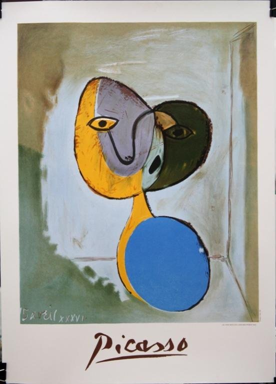 """Picasso """"Portrait de Marie-Therese Walter"""" Poster"""