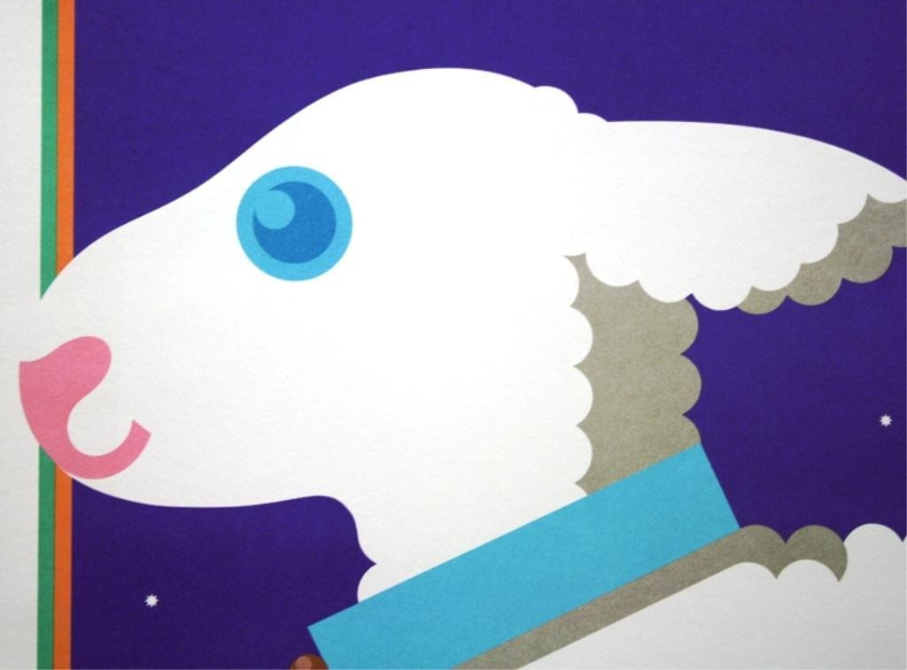"Nicolas Sidjakov ""Woolly Lamb"" Children's Poster - 3"