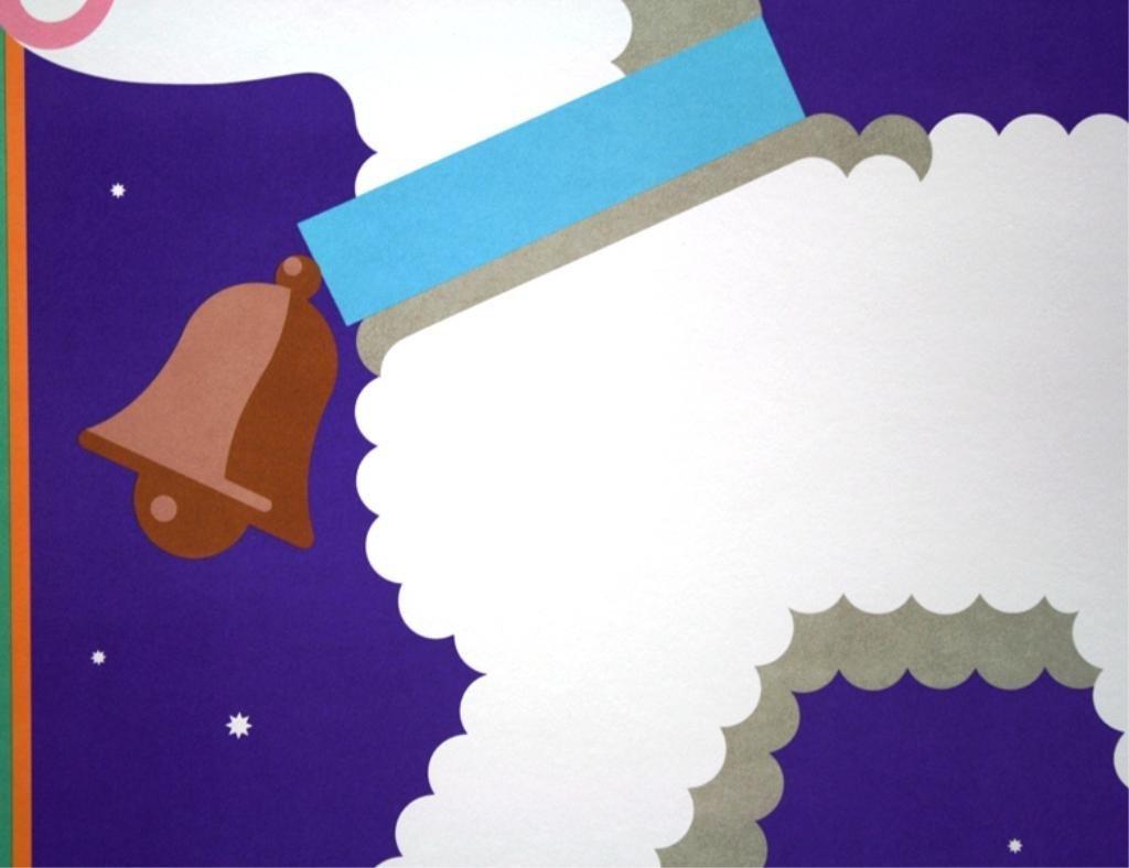 "Nicolas Sidjakov ""Woolly Lamb"" Children's Poster - 4"