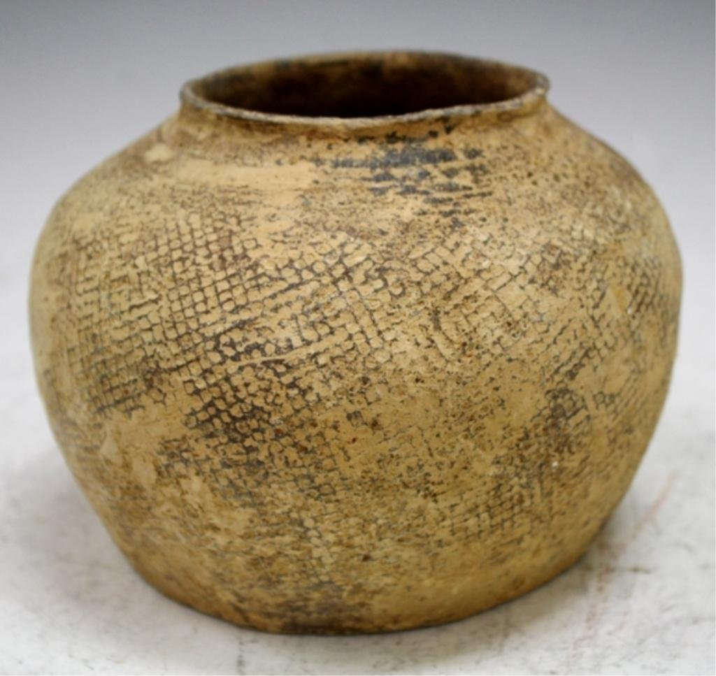 Chinese Ceramic Jar possibly Warring States Period