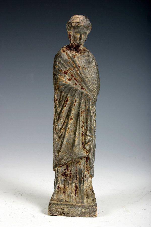 2: Ancient Greek Terracotta Female Figure 3C BC