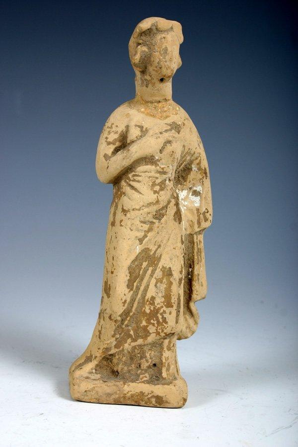 3: Ancient Greek Terracotta Female Figure