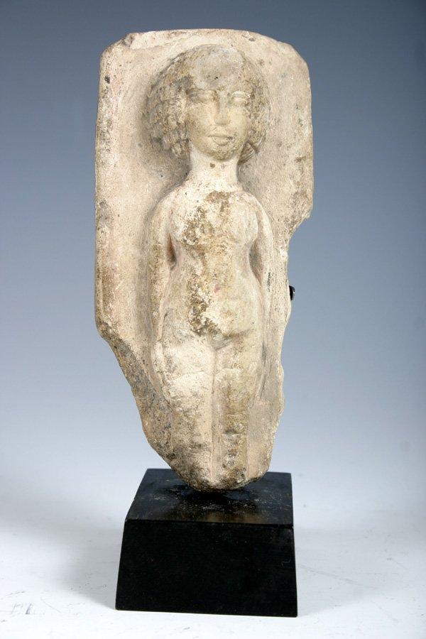 6: Ancient Egyptian Limeston Fertility Figure