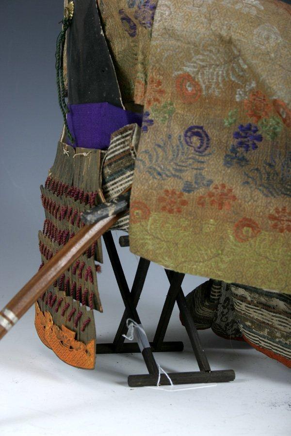 107: Edo period Japanese boys day Samurai Doll - 10