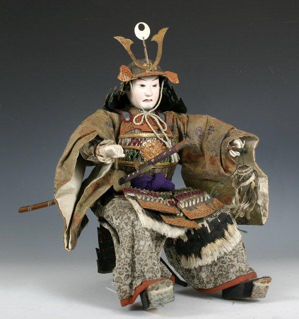 107: Edo period Japanese boys day Samurai Doll