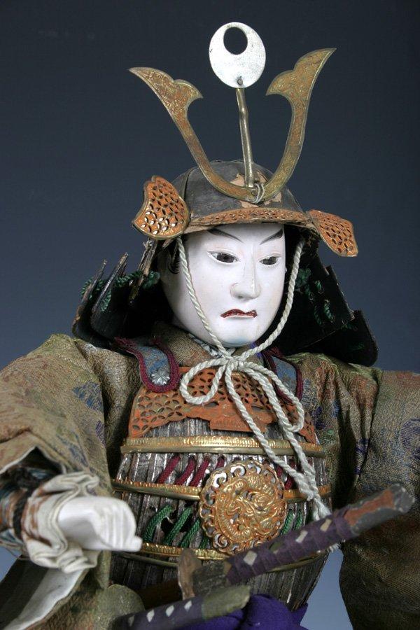 107: Edo period Japanese boys day Samurai Doll - 3
