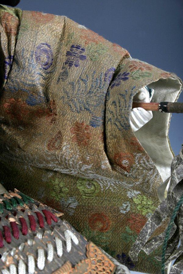 107: Edo period Japanese boys day Samurai Doll - 7