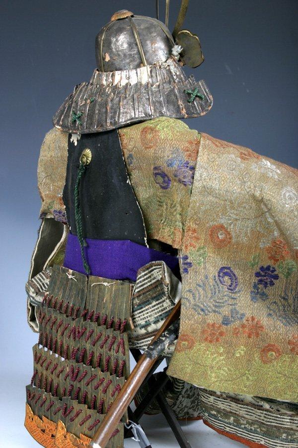 107: Edo period Japanese boys day Samurai Doll - 8