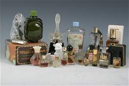 410 Assorted lot of Perfume Bottles American