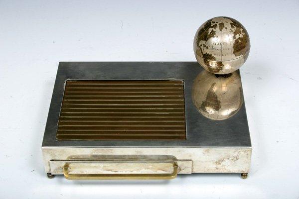 593: 1935 Vintage Musical Box Cigarette Dispenser with  - 3