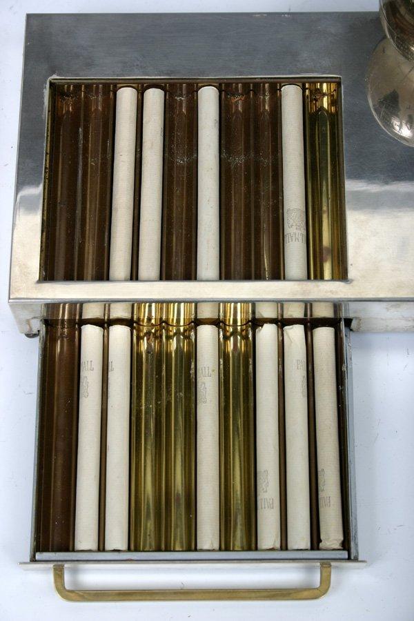 593: 1935 Vintage Musical Box Cigarette Dispenser with  - 6