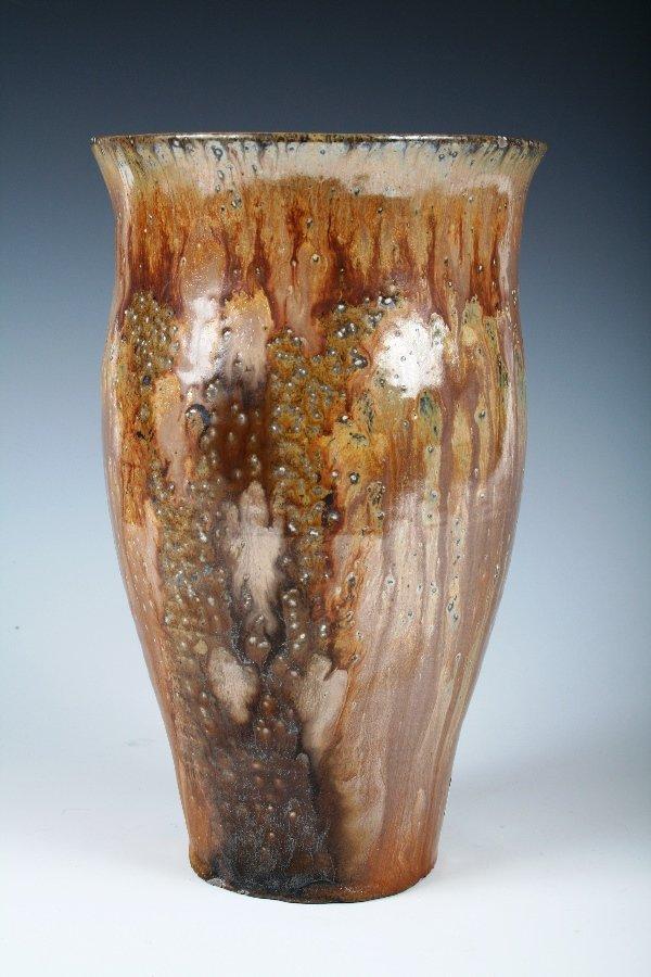 1006: Glazed Art Pottery Urn