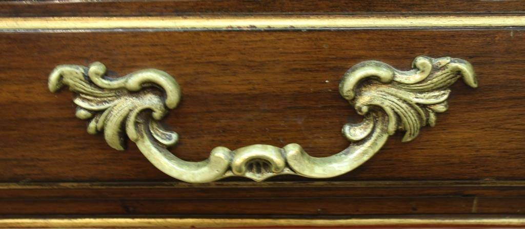 Louis XV-Form Bureau Plat, 20th C. - 7