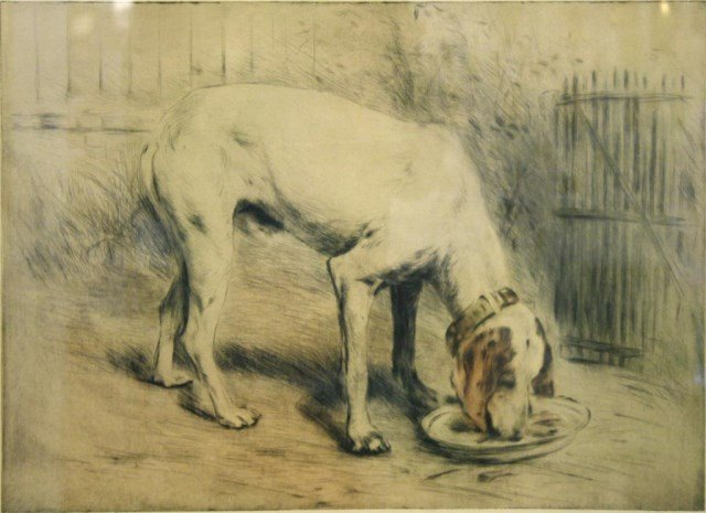 Manuel Rabbe (French, 1872-1936)- Etching
