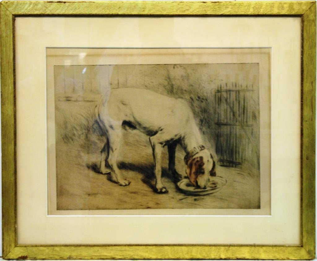 Manuel Rabbe (French, 1872-1936)- Etching - 2