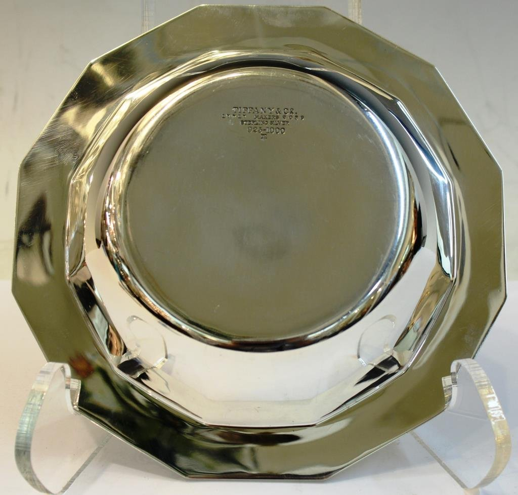 Tiffany Sterling Silver 12-Sided Candy Bowl - 2