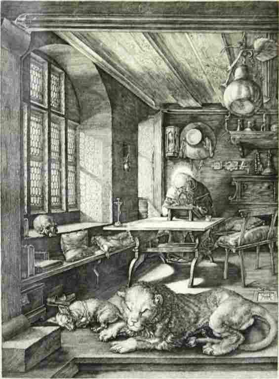 After Albrecht Dürer (German, 1471-1526)- Print