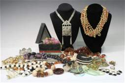 Large Lot of Vintage  New Costume Jewelry