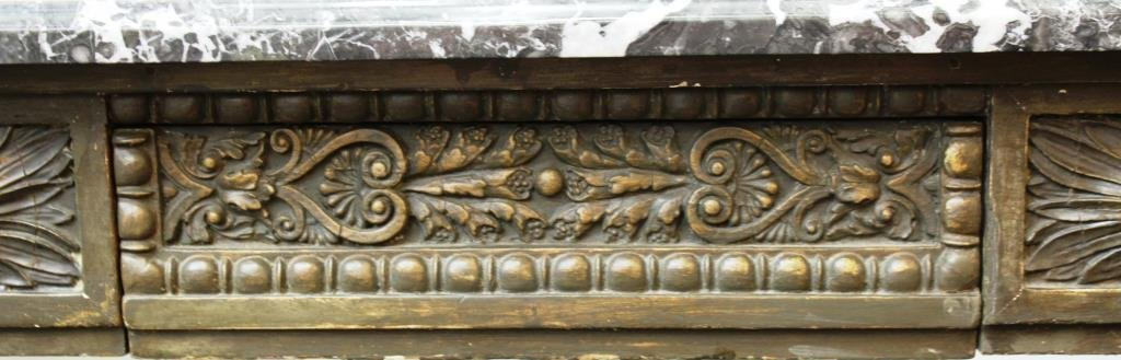 English Neo-Renaissance Style Marble-Top Buffet - 4