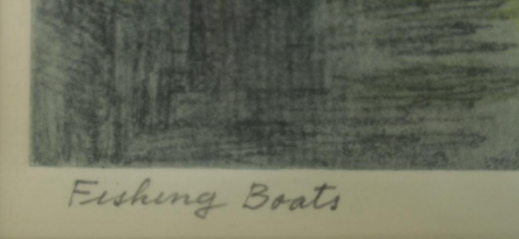 Albert Edel (American, 1894-1970)- 2 Etchings - 6