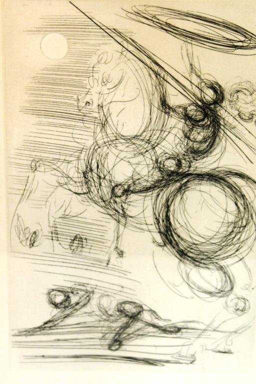 Salvador Dalí (Spanish, 1904-1989)- Etching