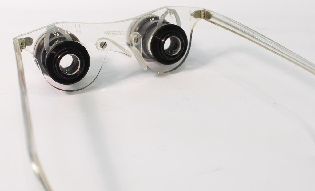 Vintage 1950s Telecopter Magnifying Spectacles - 3