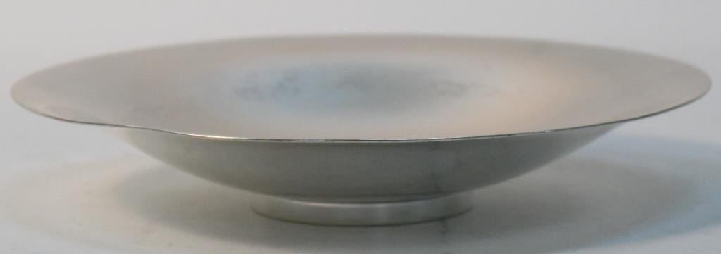 Georg Jensen Hammered Sterling Footed Dish - 2