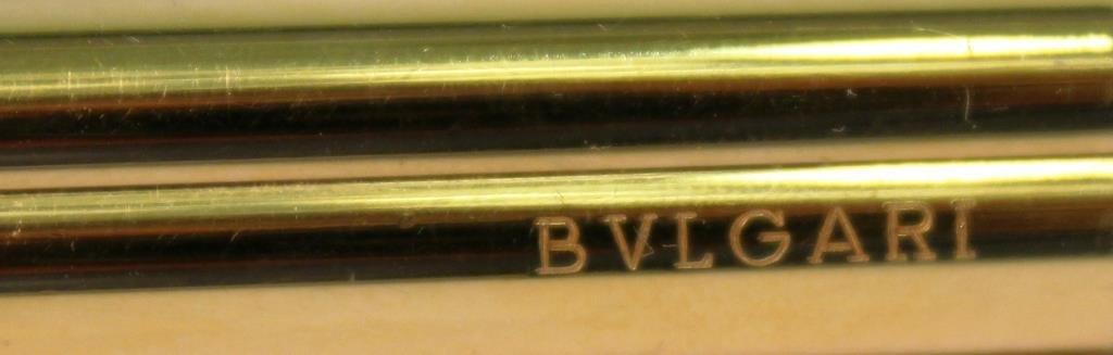 Bulgari Gold-Tone Trefoil Pen - 2