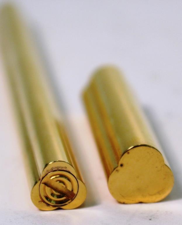 Bulgari Gold-Tone Trefoil Pen - 4