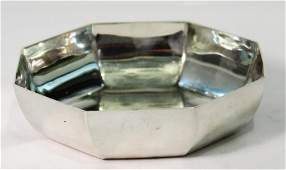 Small Tiffany Sterling Hexagonal Bowl